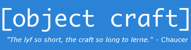 [Object Craft]